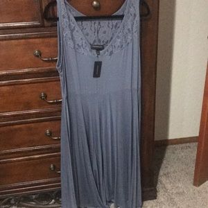 Blue grey dress by lane Bryant